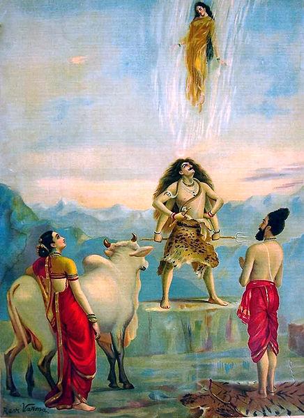 Gangavataranam Raja Ravi Varma